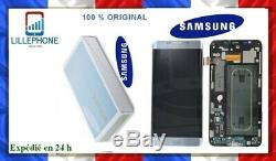 SAMSUNG G928F GALAXY S6 EDGE+ LCD DISPLAY MODULE, SILVER NEUF ORIGINAL ARGENTé