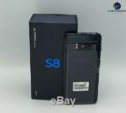 SAMSUNG GALAXY S8 64Go G950U ORIGINAL NOIR Désimlocké 1 AN DE GARANTIE