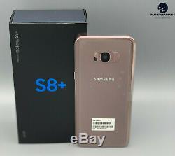 SAMSUNG GALAXY S8+ 64Go G955U ORIGINAL ROSE Désimlocké -1 AN DE GARANTIE