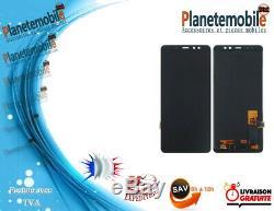 Samsung Écran LCD i Original Galaxy A8 PLUS A730f noir GH97-21534A