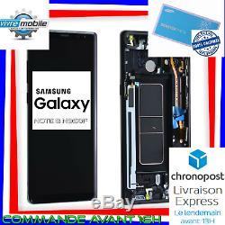 Samsung Écran LCD sur chassi Original Galaxy NOTE 8 N950F NOIR GOLD BLEU