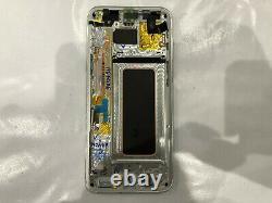Samsung Écran Original LCD Complet + Châssis Frame Samsung Galaxy S8 Plus Argent