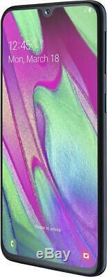 Samsung Galaxy A40 Noir 64go Débloqué Logiciel Original