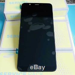 Samsung Galaxy A6+ 2018 SM A605F A605FN/DS Ecran LCD Vitre Tactile Original Noir