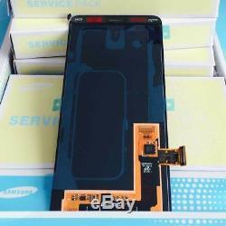 Samsung Galaxy A8 2018 (SM A530F DS Duos) Ecran LCD Vitre Tactile Original Noir