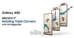 Samsung Galaxy A80 8 Go RAM 128 Go ROM Camera rotation mode (Original)