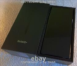 Samsung Galaxy Note 10 + Duos 256GB Noir N975F Neuf En Emb. Original Du Vendeur