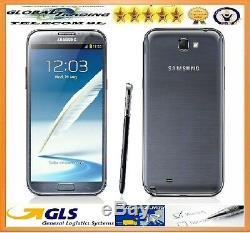 Samsung Galaxy Note 2 N7105 4G LTE Original 16GB Gris Titane Libre Nouveau