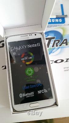 Samsung Galaxy Note 2 N7105 4g Lte Original 16gb Blanc/noir Desimlocke Neuf