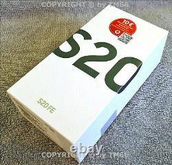 Samsung Galaxy S20 Fe G780F/DS 128GB Nuage Navy Neuf & Emb. Original Du Vendeur