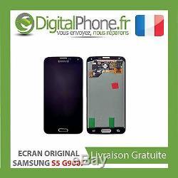 Samsung Galaxy S5 SM-G900F Affichage Écran Tactile Noir 100% Original Neuf