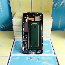 Samsung Galaxy S6 Edge+ (SM-G928F) Ecran LCD + Vitre Tactile Touch Original Or