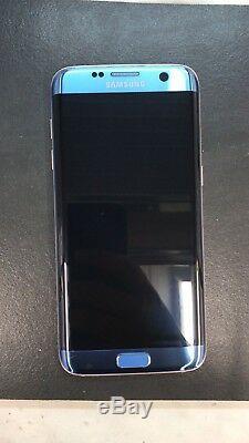 Samsung Galaxy S7 Bord G935F Bleu Ciel Oled Écran Tactile LCD Original