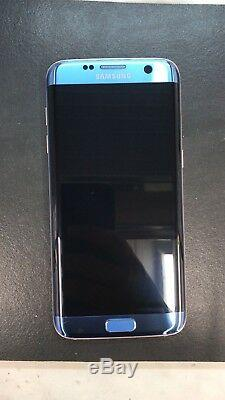 Samsung Galaxy S7 Edge G935F Bleu Ciel Oled Écran Tactile LCD Original