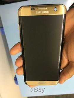 Samsung Galaxy S7 Edge G935f Doré Oled Écran Tactile LCD Original