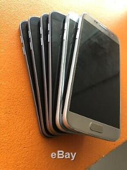 Samsung Galaxy S7 G930F 32 Go Noir Argent Or Original Garantie