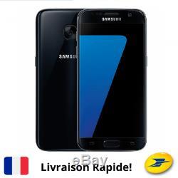 Samsung Galaxy S7 SM-G930A 32 GO Noir Original Smartphone Android Désimlocké FR