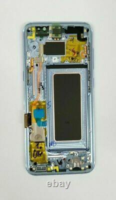 Samsung Galaxy S8 Bleu Écran Tactile LCD Numériseur + Cadre G950 Original Neuf