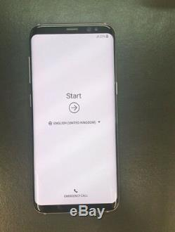 Samsung Galaxy S8 G950F Rose/or Rose Oled Écran Tactile LCD Original