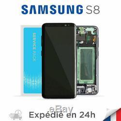 Samsung Galaxy S8 Noir Ecran LCD OLED Original Service Pack SM-G950F GH97-20457A