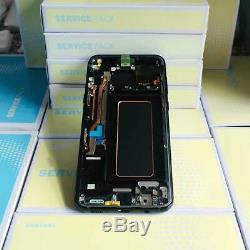 Samsung Galaxy S8 Plus S8+ SM-G955F Ecran LCD Vitre Tactile Touch Original Noir