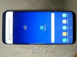 Samsung Galaxy S8 + live démo unit SM G955X produit original Noir