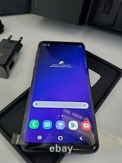 Samsung Galaxy S9 SM-G960F Original, 64Go Noir Désimlocké État Quasiment Neuf