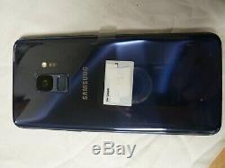 Samsung Galaxy S9 live démo unit SM G960X de couleur Bleu produit original