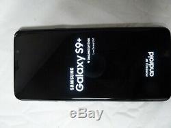 Samsung Galaxy S9 + live démo unit SM G965X de couleur Bleu produit original