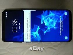 Samsung Galaxy S9 + live démo unit SM G965X de couleur Noir produit original