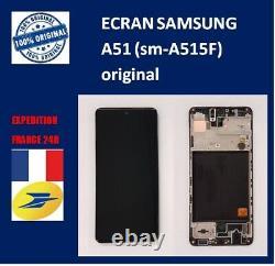 VITRE TACTILE + ECRAN LCD ORIGINAL SAMSUNG GALAXY A51 SM-A515F ref GH82-21669A