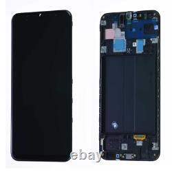Vitre Tactile Ecran LCD Noir Original Samsung Galaxy A305 (A30 19)