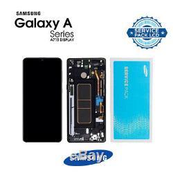Vitre Tactile Ecran LCD Noir Original Samsung Galaxy A715-A71 (2020)
