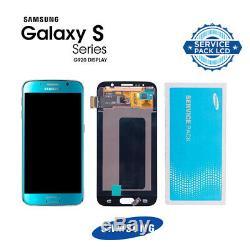 Vitre Tactile Ecran LCD Noir Original Samsung Galaxy G920F S6 Noir Bleu Or Blanc