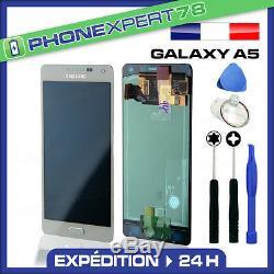 Vitre Tactile + Ecran LCD Original Samsung Galaxy A5 Blanc A500f + Outil