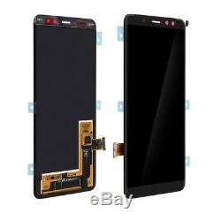 Vitre Tactile + Ecran LCD Original Samsung Galaxy A8 Noir A530 + Outils