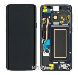 Vitre Tactile Ecran LCD Original Samsung Galaxy G960 S9 Noir / Violet