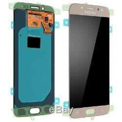 Vitre Tactile + Ecran LCD Original Samsung Galaxy J5 Or Gold 2017 J530 + Outils