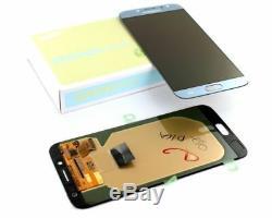Vitre Tactile + Ecran LCD Original Samsung Galaxy J7 Argent 2017 J730 + Outils