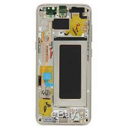 Vitre Tactile Ecran LCD Original Sur Chassis Samsung Galaxy S8 Or Gold G950
