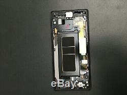 Vitre Tactile Ecran LCD Original Sur Chassis Samsung Galaxy S9+ G960f Noir
