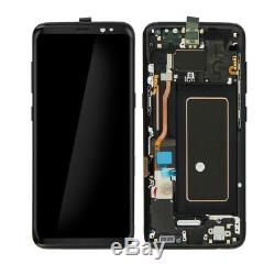 Vitre Tactile Ecran LCD Original Sur Chassis Samsung Galaxy S9 Noir G960