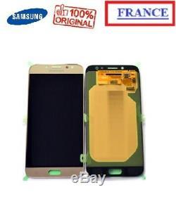 Vitre Tactile + Ecran LCD Samsung Galaxy J7 J730 J730f J730fn Or Original 2017