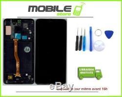 Vitre Tactile + Ecran LCd + Châssis Original Pour Samsung Galaxy A9 2018 A920F