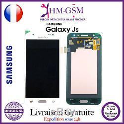 Vitre Tactile Galaxy J5 Original + Ecran LCD J5 Blanc J500 + Outils