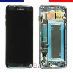 Vitre tactile Noir + ecran LCD assemblé original Samsung Galaxy S7 Edge SM-G935F